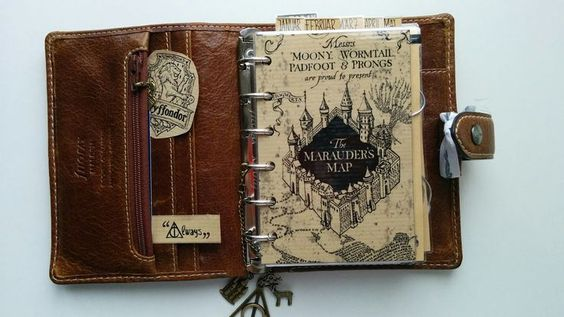 FAVtastic: Planner meets Potter - Filofax for Harry Potter Fans, i love it: