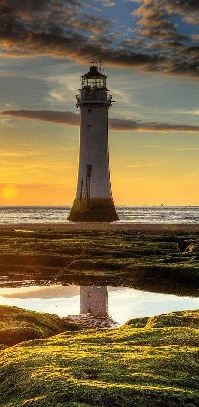 New Brighton, Wallasey, England by Eva0707: