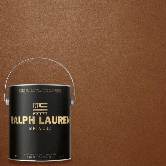 Ralph lauren copper and home on pinterest for Ralph lauren interior paint