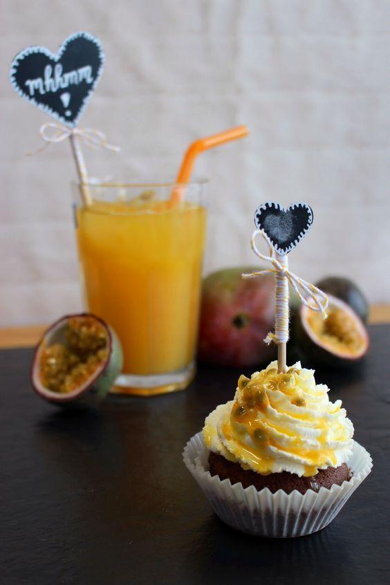 Maracuja Dream Cupcake