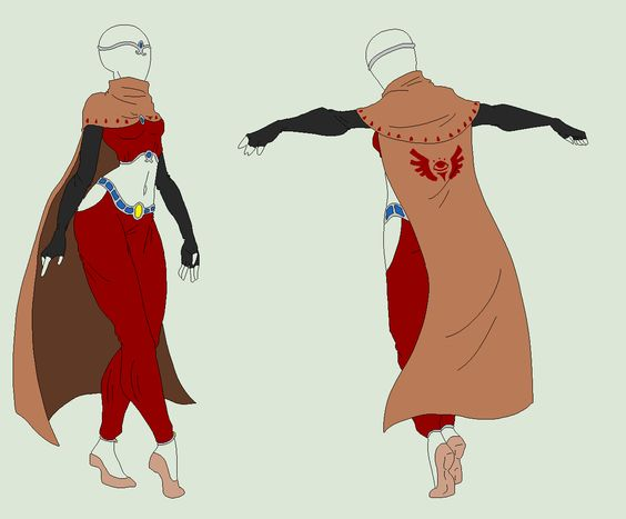 Outfit Adopt - Desert Citizen - SOLD by ShadowInkAdopts.deviantart.com on @deviantART