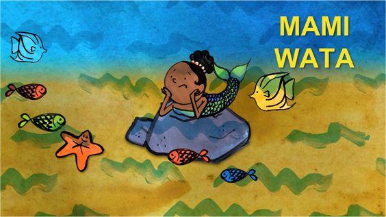 Mami Wata paroles en bamanan