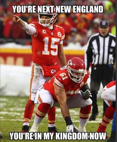 New England Trash They Can T Stop Magic Patrick Kansas City Chiefs Football Chiefs Memes Chiefs Football