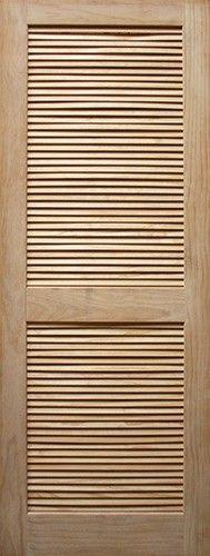 6 8 Clear Pine Interior Slab Louver Unfinished Wood Door Slabs Beautiful Discount Doors