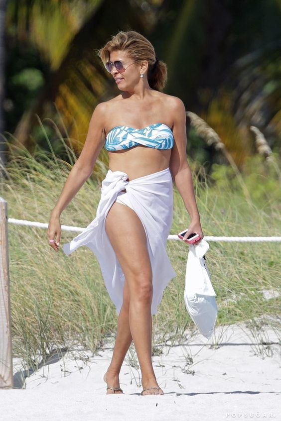 Pin for Later: Age Is Just a Number! See Hot Stars Over 40 in Bikinis Hoda Kotb, 51