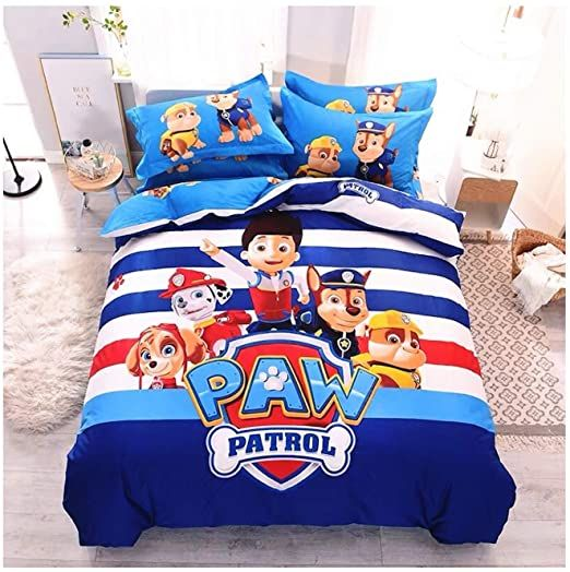 Peachy Baby Featuring Paw Patrol Bedding Set Queen King Twin Double Full Size Free Express Shipping 100 Cotton C In 2020 Duvet Sets Paw Patrol Bedding Boys Bedding