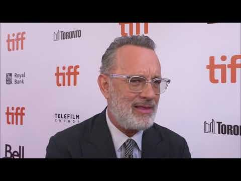 Tom Hanks Discusses Playing Fred Rogers In A Beautiful Day In The Neighborhood Youtube Tom Hanks Celebrity Interview Fred Rogers