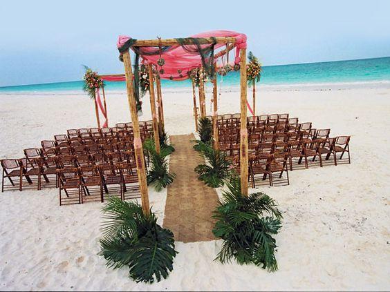 Stunning Beach Wedding Ceremony Ideas: Stunning Ceremony Décor Ideas