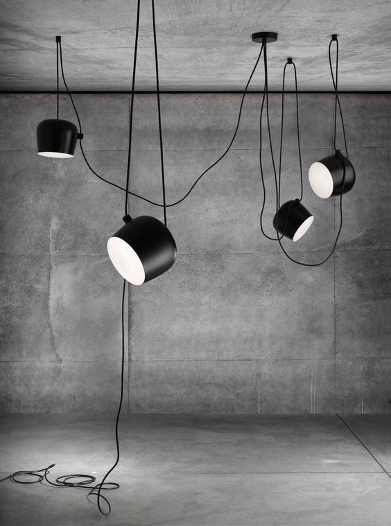 ronan erwan bouroullec break tradition with aim light industrial lighting design and en. Black Bedroom Furniture Sets. Home Design Ideas