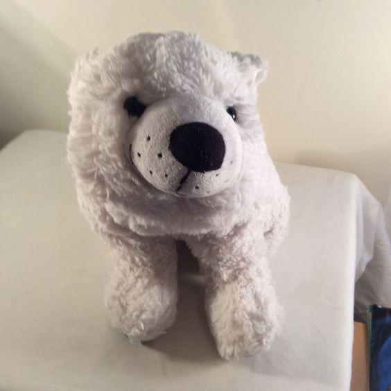 2011 Kohls Cares For Kids Plush Polar Bear NIGHT YOU WERE BORN Stuffed Animal #KohlsCaresforKids