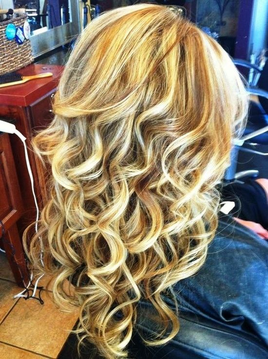love the curls this is definatly a cool hair style