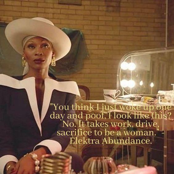 elektra abundance actress pose netflix quotes | soyvirgo.com monthly favorites