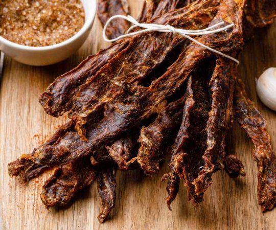 How To Make The Best 5 Ingredient Beef Jerky At Home Try This Healthy Substitute Recipe In 2020 Jerky Recipes Beef Jerky Recipes Beef Jerky