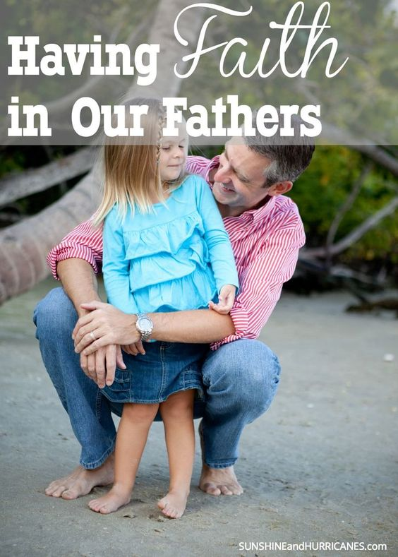 """Are you guilty of """"Dad Delegation Denial""""? Most moms are and we often don't even realize it. When we learn to recognize the signs, we make our lives less stressful and make our children's life richer. Having Faith in Our Fathers. SunshineandHurric..."""