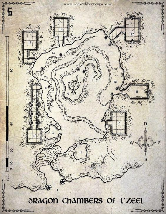 Saldando atrasos   - Duas cidades, uma caverna e uma taverna -     Estava devendo mapas para vocês, já que acabei falhando na postagem ...