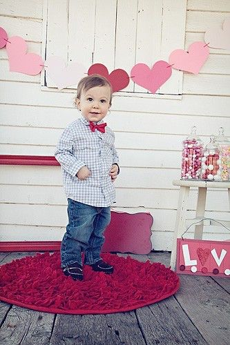 A personal favorite from my Etsy shop https://www.etsy.com/listing/66137935/boys-bow-tie-red-bow-tie-bow-ties