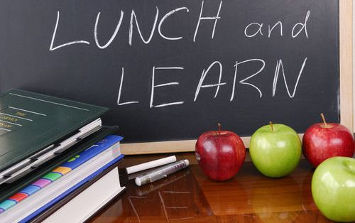 Lunch and Learn - an Effective Low Cost Solution