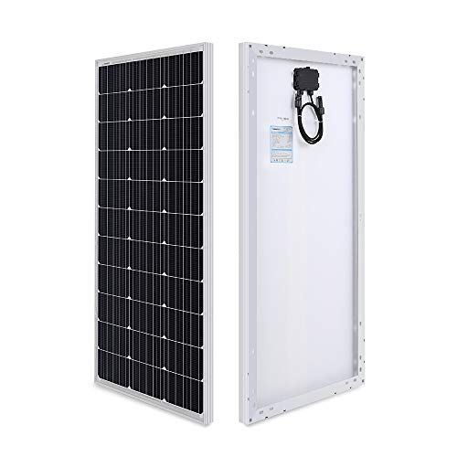 Renogy 100 Watt 12 Volt Monocrystalline Solar Panel Compact Design Monocrystalline Solar Panels Best Solar Panels Solar Panels