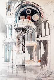 """Résultat de recherche d'images pour """"ruskin architecture watercolor"""""""