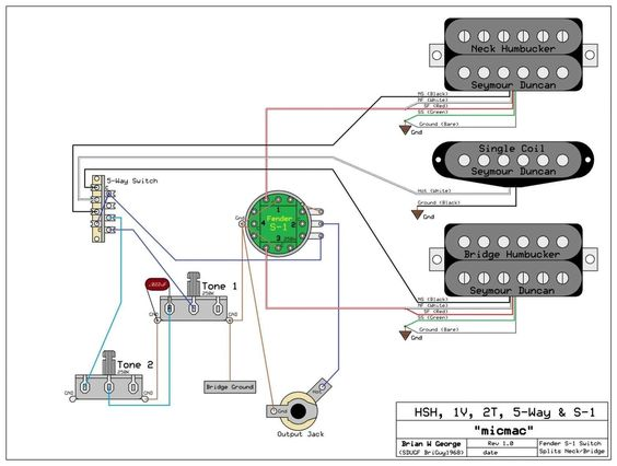 Wiring Diagram Guitar New 5 Way Import Switch Wiring Diagram Neomarine