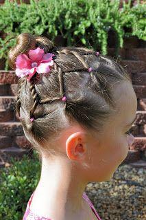 Astonishing Princess Piggies Gymnastics Hair Cheer Tumble And Flip Short Hairstyles For Black Women Fulllsitofus