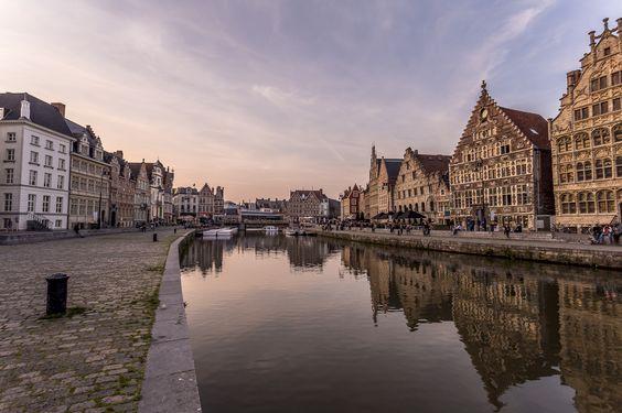 Evening mood in #Gent | Graslei