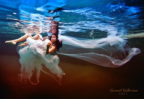 Surreal Underwater Women Photography By Mario Peraza