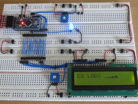 Librera Arduino Para Display LED de 7 Segmentos Con