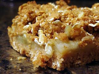 Vegan Apple Squares