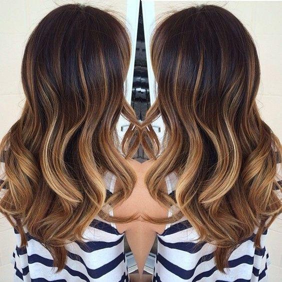 Básicamente tu cabello se convertirá en un mar de diferentes tonos de color. | 16 Razones por las que querrás teñirte el cabello al estilo #TortoiseHair