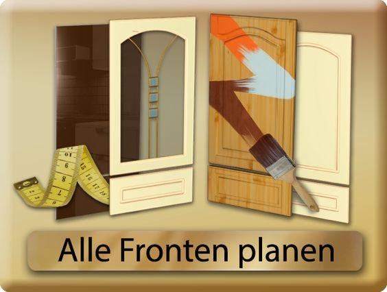 Küchenfronten Austauschen Pinterest