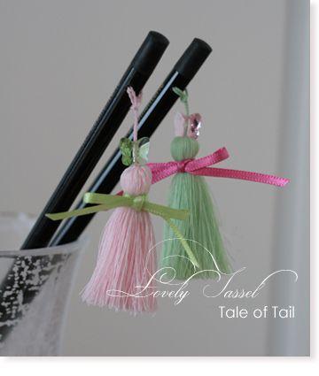 鉛筆のタッセル | Tale of Tail