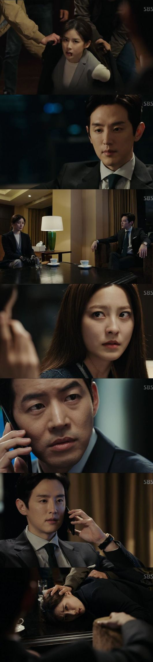 "[Spoiler] ""Whisper"" Lee Sang-yoon saves Lee Bo-young:"