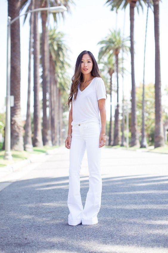 What to Wear With White Jeans: 20 Perfect Outfits | Songs The
