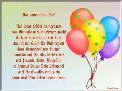 Alles Gute Zum Geburtstag Wunderschone Geburtstagswunsche Mit