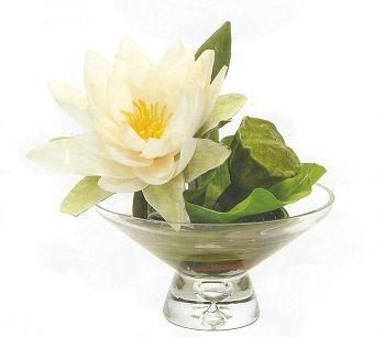 Silk Water Lily Arrangements by Artificial Silk Plant Design.