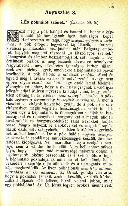 08.08. Spurgeon: Harmatgyöngyök...