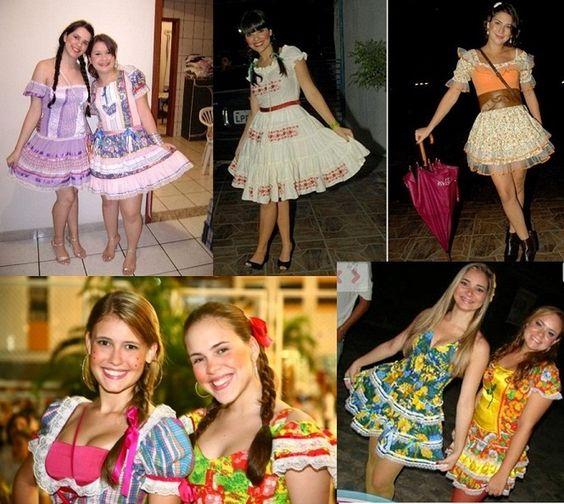 Vestidos de Festa Junina 2014