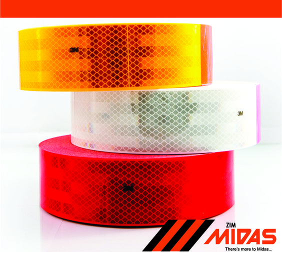 Have you got the correct colour reflective strips on your vehicle? Can you guess what colour goes in front and in the back?