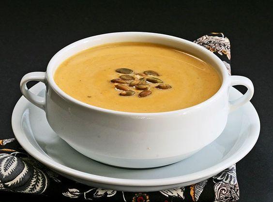 butternut squash soup, Roasted butternut squash and Butternut squash ...