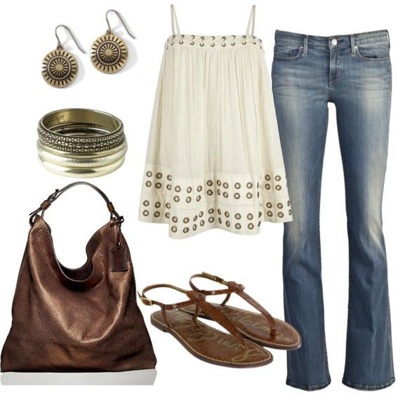 """""""brown"""" by sandreamarie on Polyvore"""