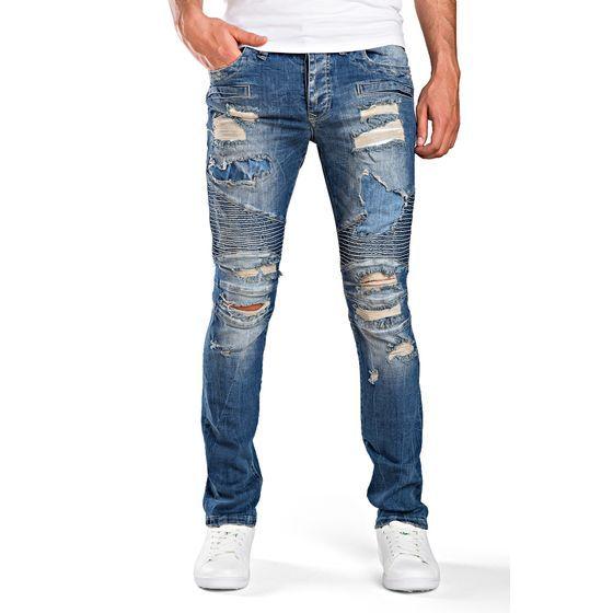 jeans #destroyed #hose #slimfit #skinny #herren #Männermode