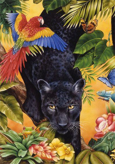 Jungle Panther ~ Anzalone & Avarella Studios