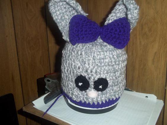 PDF FLOPSY BUNNY Hat Pattern by CrochetPDFandmore on Etsy, $2.99