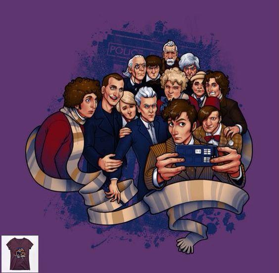 Doctor Who selfie