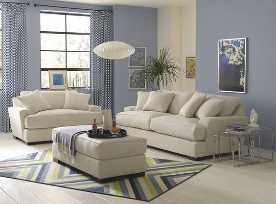 A mix of comfort and contemporary styling the sleek lines for Sleek sofas small spaces