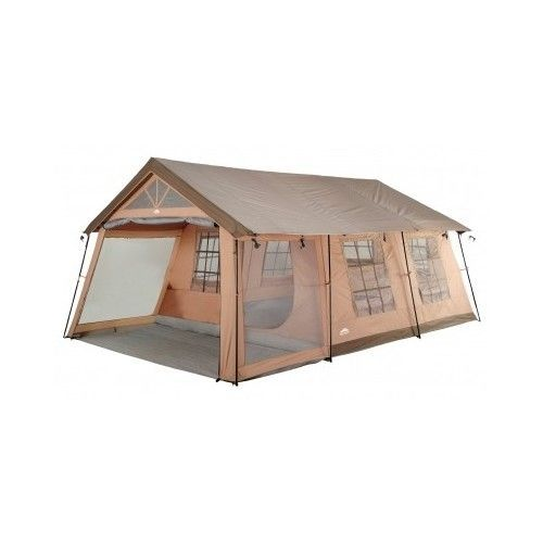 Family Camping Tent Outdoor Cabin 10 Person 2 Room Xl