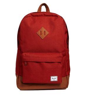 Herschel Heritage Backpack in Rust