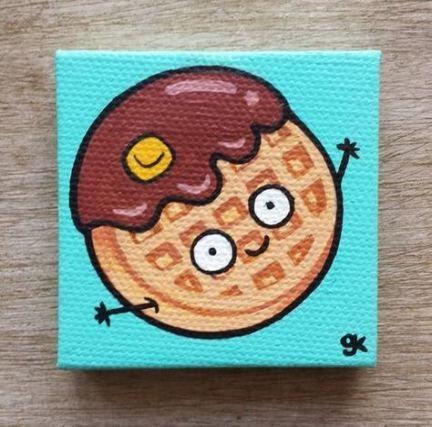38 Ideas For Mini Canvas Art For Kids Paint Mini Canvas Art Small Canvas Paintings Canvas Painting Diy