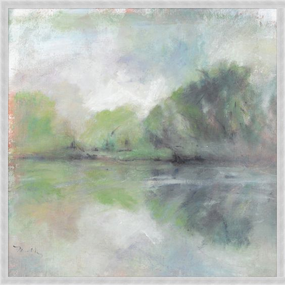 Lakeside View I - canvas (wnd)